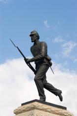 Civil War memorial to the 1st Minnesota