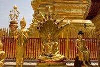 Buddhist temple at Doi Suthep in northern Thailand