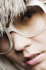 fashion portrait of woman in sunglasses