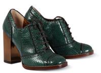 Green women shoes
