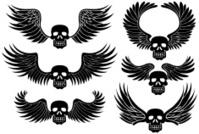 Winged Skull Set
