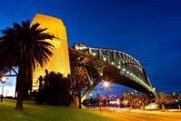 Sydney Harbour Bridge Twilight Panorama