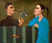 The conversation men and women
