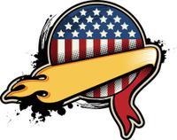 american grunge emblem