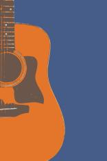 Acoustic Guitar Side (Vector)