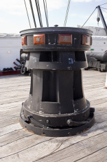 Capstan on Old Frigate