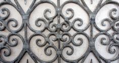 symmetrical iron decore