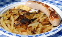 Swiss Bratwurst & Roesti