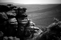 Big rock formation