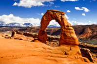 Arches National Park: Deilcate Arch