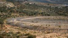 Segment of Israel's Separation Barrier near Bil'in, West Bank
