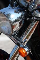 Motorcycle Headlight & Blinker