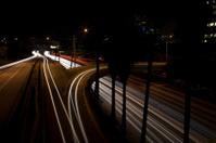 Time Lapse Of Freeway at Night