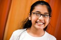 Cheerful Indian Girl
