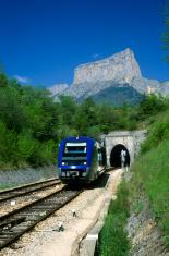 Mont Aiguille, railroad