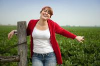 Happy Indiana Farm Girl