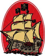 evil pirate ship