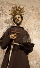 Saint Francis of Assisi effigy Havana, Cuba