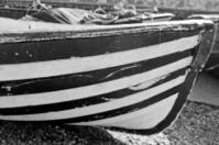 stripes boat