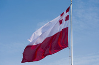 Utrecht provincal flag of the Netherlands