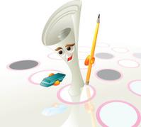 quiz paper pen