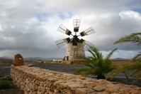 windmill on Fuerta Ventura
