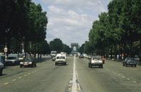 Champs Elysees road