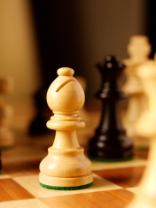 Bishop chess piece in a Game
