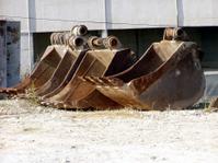 Old equipment junkyard