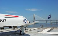 Navy Jet on USS Yorktown
