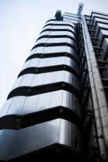Lloyds London, modern architecture, low angle