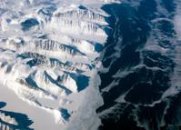 Greenland coastline view