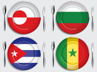 Food-Greenland-Bulgaria-Cuba-Senegal