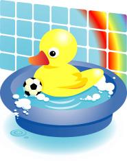 boys rubber duck