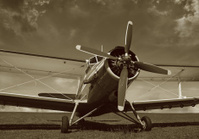 Old Vintage Biplane