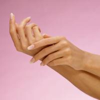 beautiful tender Womans Hands