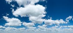 The blue sky panorama 82MPix XXXXL size