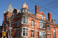 Vintage Building in Toronto
