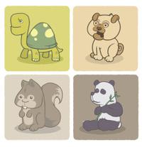 Four Animal Friends