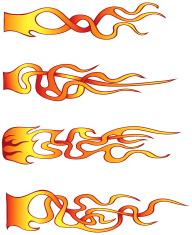 Swirly Flames