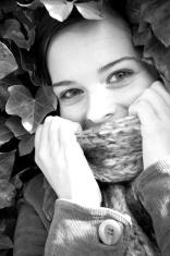 Autumn Girl #1 (B&W)