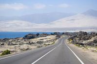 Pacific coast road