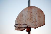 Rusty Basketball Hoop