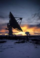 Radio Antenna Dishes