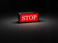 lamp STOP