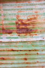 rusted tin