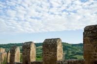 Orvieto and defence wall