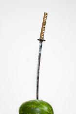 sword in the melon