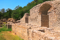 Albania,Ruins of Butrinti