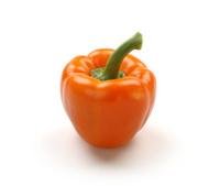 Orange colour sweet pepper